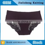Fashion Wholesale Women Brief Panty Laser Cut Body Slim Comfortable Sexy solid Color Seamless Panty Factory in China accept oem