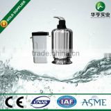 Stainless Steel Water Softener Equipment with valve for water purification processing