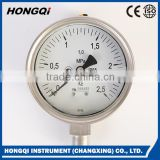 "100mm(4"") Oil filled Stainless steel Pressure Gauges/Vacuum pressure gauge manometers ,DIN standard -0.1~0.9Mpa"