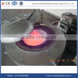 Gas fired crucible aluminum melting furnace