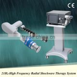 Air pressure shockwave system extracorporeal shock wave therapy equipment 21Hz frequency