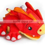 New hot sell pink Dinosaur plush bath toys stuffed shower toy for babies