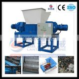 Economic and durable household waste shredder machine with twin shaft
