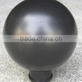 yesheng 8 inches HDPE plastic hollow ball, christmas ball