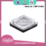 plastic eye shadow container cases for cosmetic use