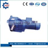 K Series Helical Bevel Gearbox for hydraulic high speed construction lift car construction lifter