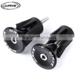 WAKE Paired aluminum CNC Handlebar Plugs Super Light MTB and Road Bicycle Handlebar sets 4 Colors