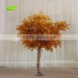 GNW BTR1609007-MT Artificial Autumn Maple Tree With Orange Leaves Indoor Outdoor Landscaping Trees