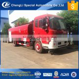 CLW multiple use 4x2 180hp 10000 liters fire fighting water truck for fire fighting and water sprinkling green environment