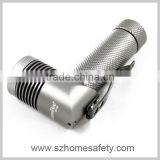 5W Aluminum Flashlight, Cree LED Type, 180lm Luminous Flux, 100m Range, Measures 24 x 80+45mm