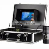 2017 new arrive 7 inch TFT LCD Monitor 20m 360 rotating fish finder underwater aquaculture monitoring camera system with DVR