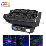 Factory Direct Export Colorful RGB Eight Heads 1720MW Moving Head Spider Laser Stage Light