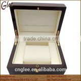 Cheap funky wooden watch boxes with lock wholesale