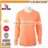 Fancy Girl Pure Color V Neck Long Sleeve T Shirt for Women