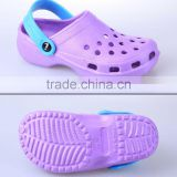 Popular comfortable ashion cool summy girls child nude beach slippers for footwear and promotion