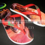 DIY sublimation printable flip flops