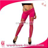 wholesale cotton sexy shiny leggings spandex made in china