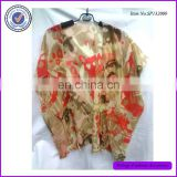 2015 Summer Cover Up Chiffon Beach Dress Tropical Beach Pareo
