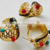 trendy dubai alloy fashion gold jewelry