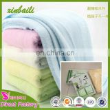 wholesale 100% bamboo fiber towels larger soft bath towels for adults children 70*140cm 350g