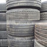 PART WORN TRUCK TIRES