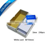 promotion price for CR80 Blank Inkjet PVC ID card for Epson , Cannon printer