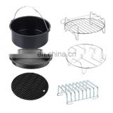 6pcs Air Fryer Air Fryer Accessories set Set of 6 Air Fryer Replacements