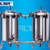 Industrial water filtrarion SS filter housing