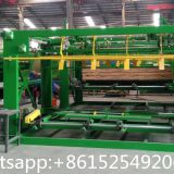 Servo motor wood veneer composer machine