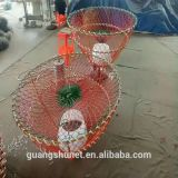 Green Foldable Crab Pot Trap