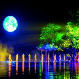 Bright Water Show, Laser Show, Fog effects, Light show The biggest performance show in the world Music water show
