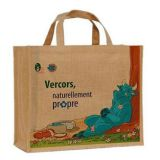 Fashion natural jute shopping bag