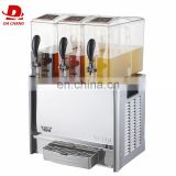 Cheap price Large capacity Automatic commercial cooling drinking juicer cold fruit juice dispenser