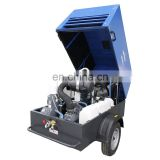 New design screw pump electric lubrication air compressor for agriculture