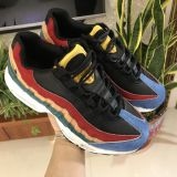Nike Air Max 97 with black nike shoes for school