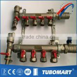 Factory supply new design water gas distribution pex pipe manifold with manual control valve
