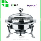 Factory Price Stainless Steel Mini Hot Pot Chafing Dish                                                                         Quality Choice