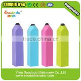 Mini Colorful Cute Rubber Pencil Shaped Eraser