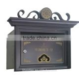 Outside Stainless Steel Mailboxes Metal stainless steel Material and Garden Type mailbox