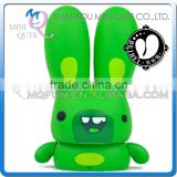 Mini Qute Mask Bear 10cm Happy Beibei Rabbit Kawaii plastic animal action figures Kids Cartoon toy car Decoration doll model
