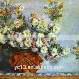 Handmade flower oil painting reproduction masterpieces monet 43