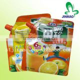 Baby Juice Flexible Food Packaging With Spout