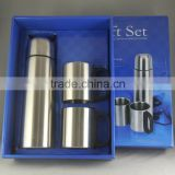 Classical Fashional Durable Double Wall Stainless Steel Vacuum Flask Set
