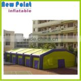 China waterproof factory inflatable air tent for play tennis or exhibition