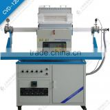 CE Certifed CVD tube furnace system with mass flow meter