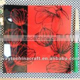 Novelty Toughened Glass Plate