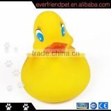 Inflatable Rubber Yellow Bath Duck Toy