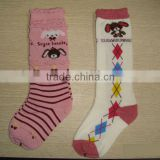 Baby long socks, baby slipper socks