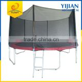 Shaoxing Yijian hot sale indoor trampoline with safety net                                                                                                         Supplier's Choice