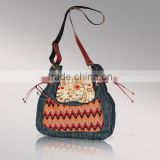 1281 New Arrival fashion blue jeans bags,2014 fashion trend denim handbag handmade in Guangzhou